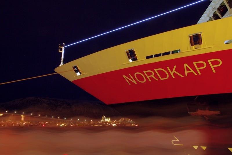 am Hurtigrutenkai