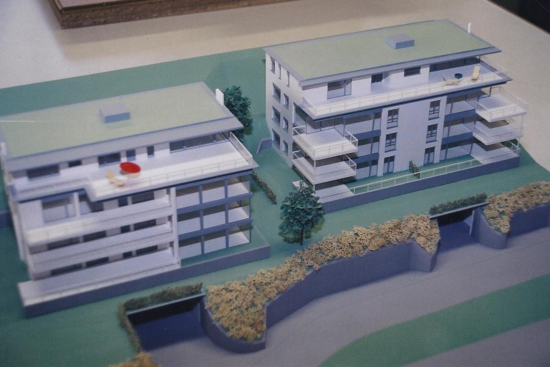 Mehrfamilienhäuser (Mst. 1:200)