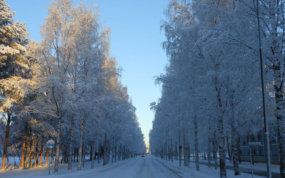 Finland cityscape