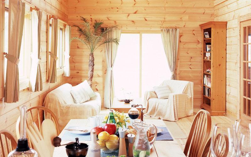 Finland Log house