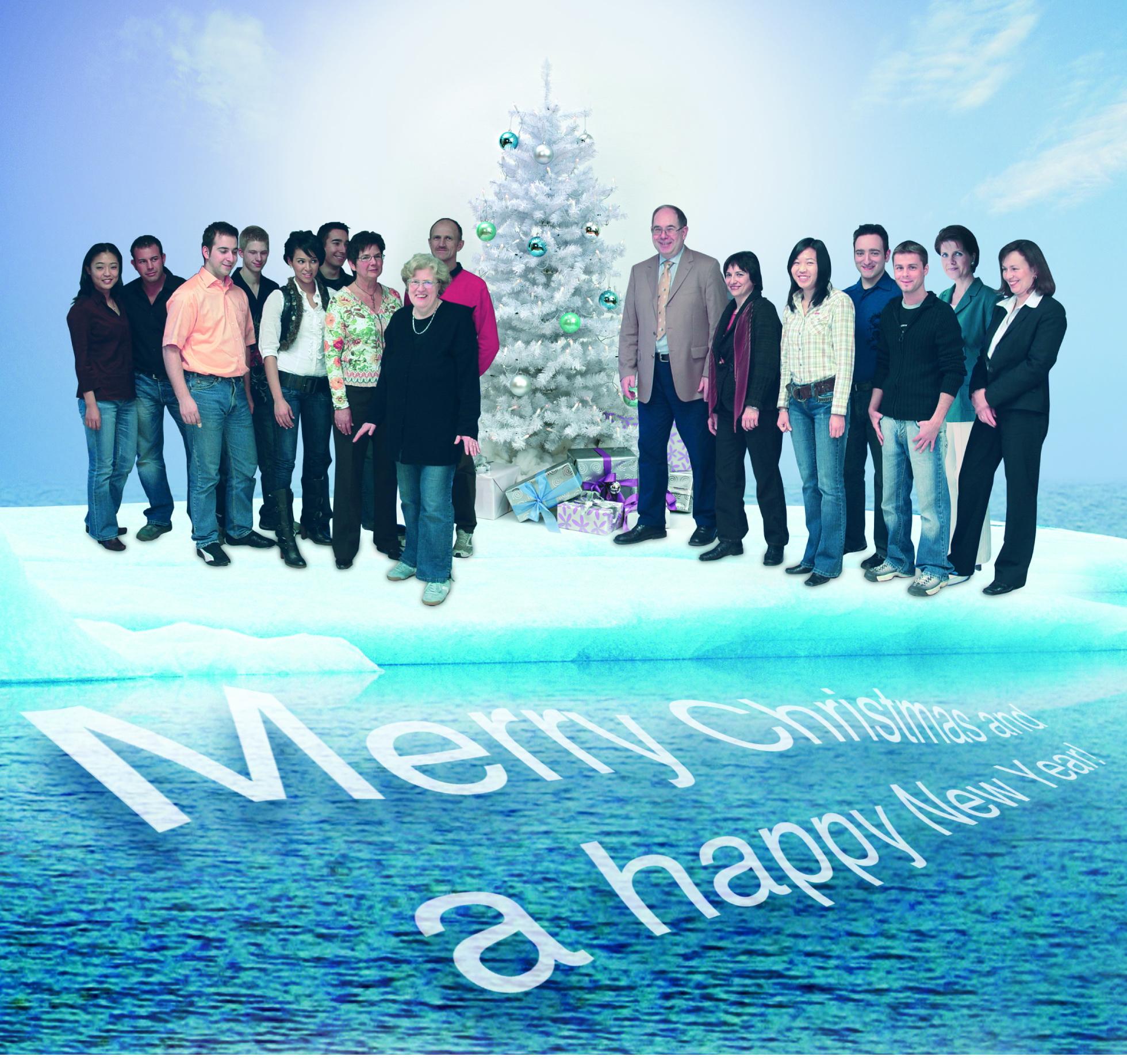 Team at Christmas 2006