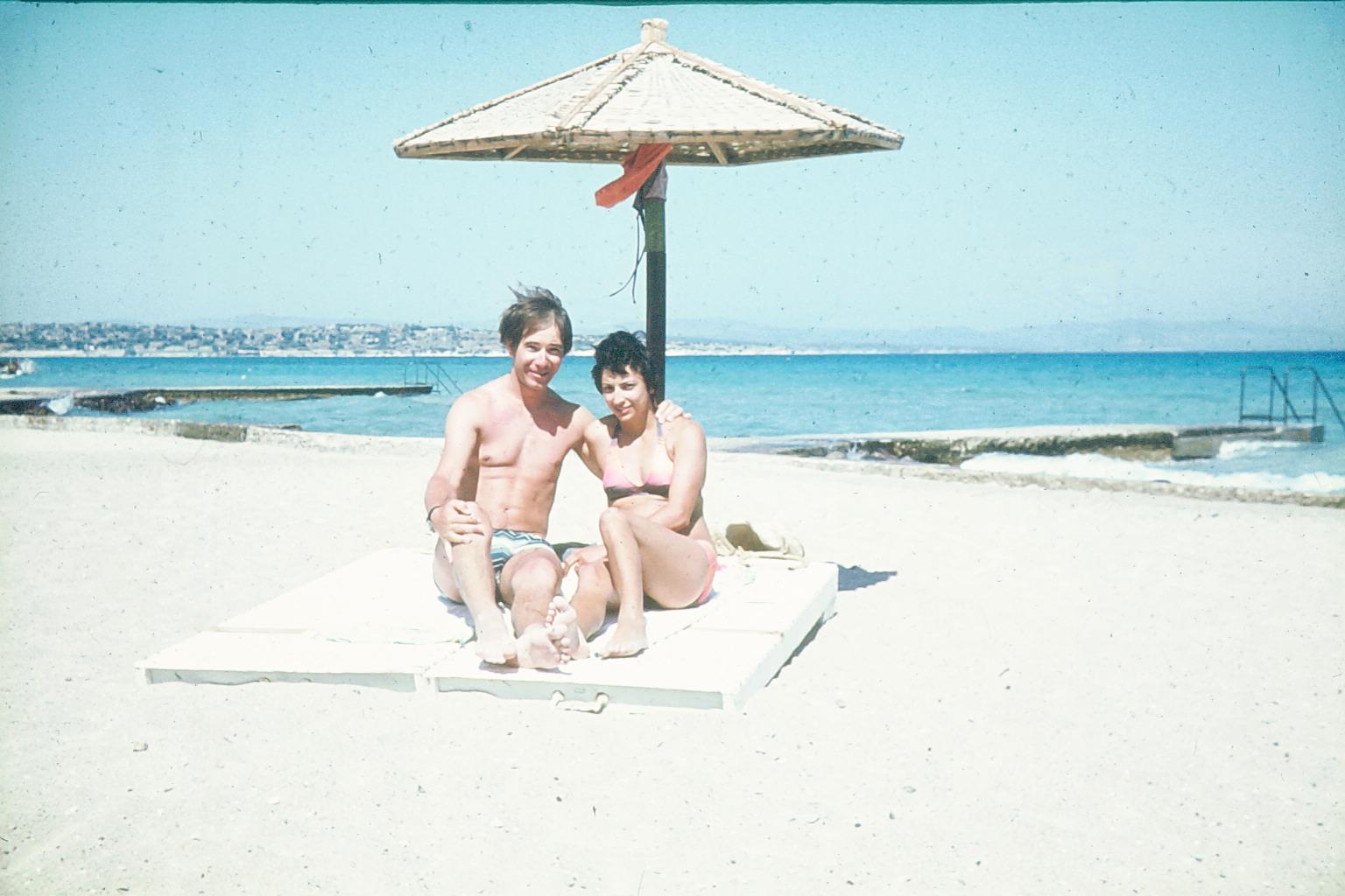 .. am Strand