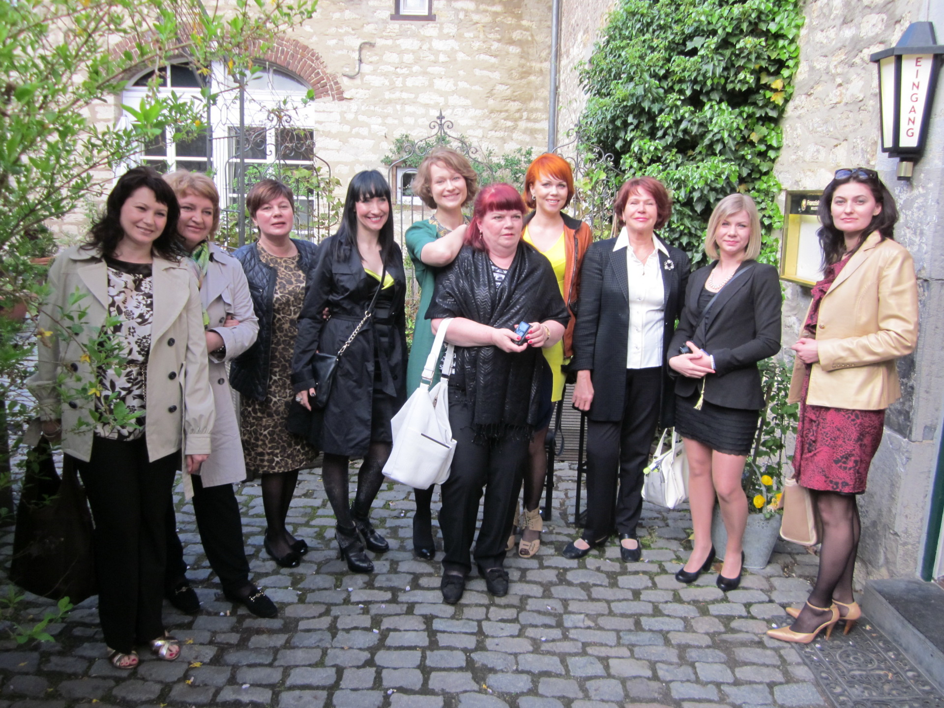 Guests from Eesti in Aachen 2013