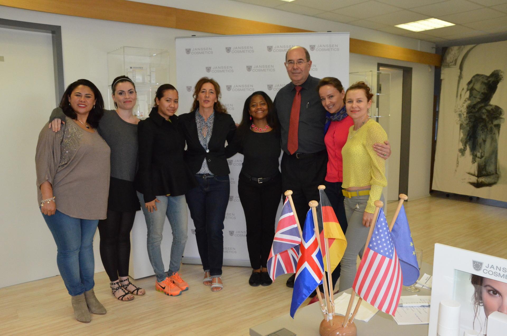 Start in Island - hier Seminar mit USA und England 2014