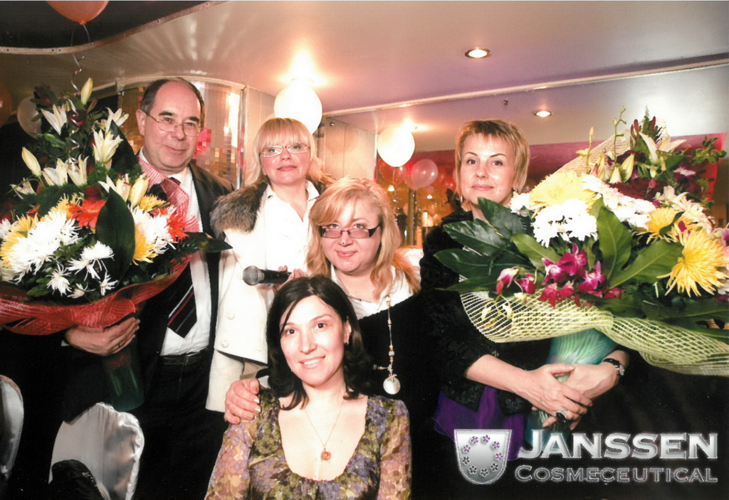 10th Anniversary party in Moscow 2011