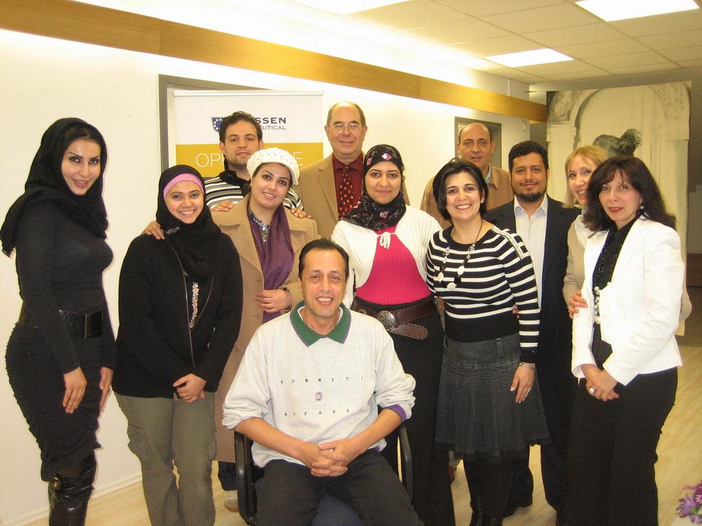Saudische Ärzte in Aachen 2010