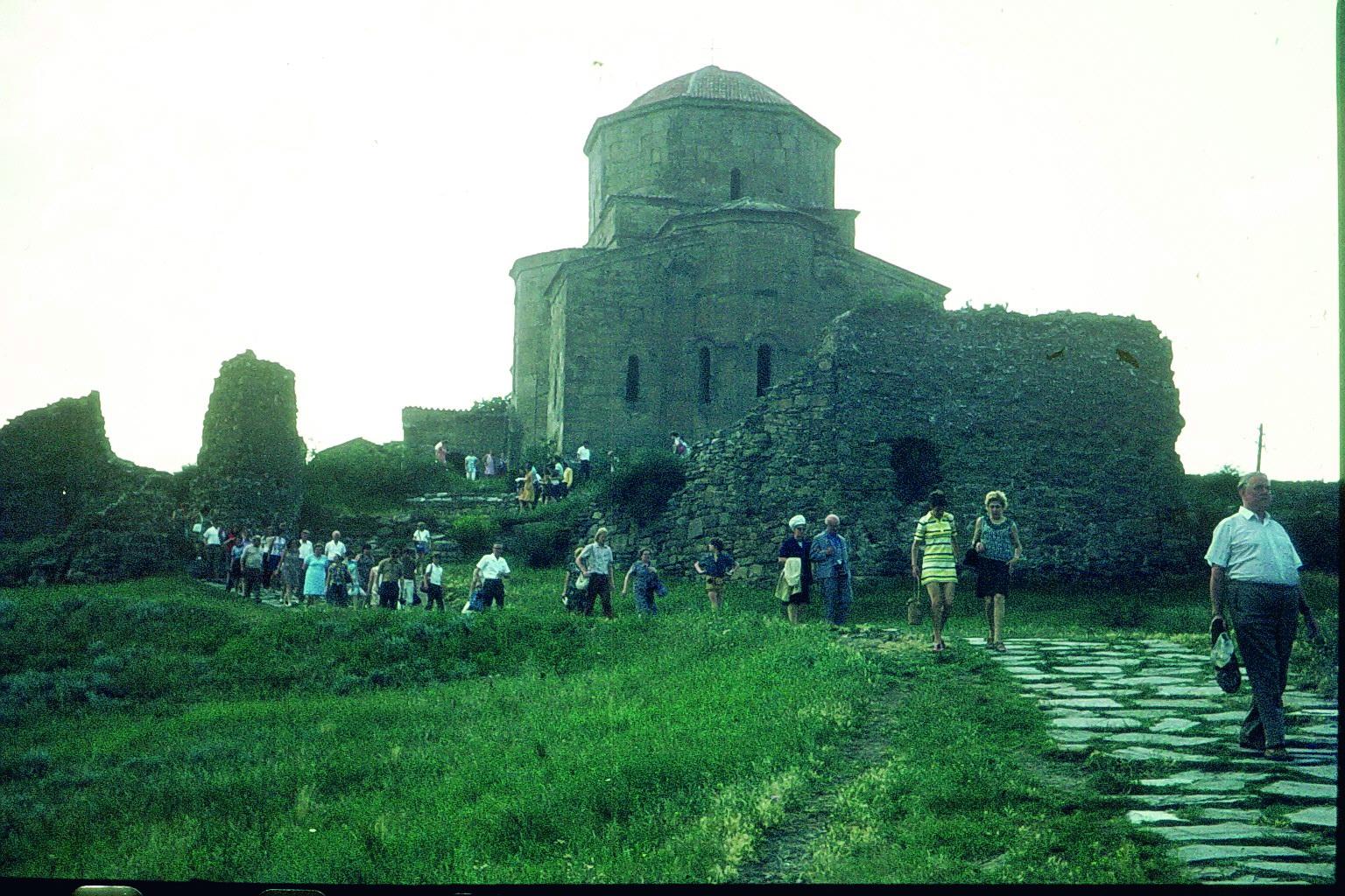 Bergkloster in Georgien