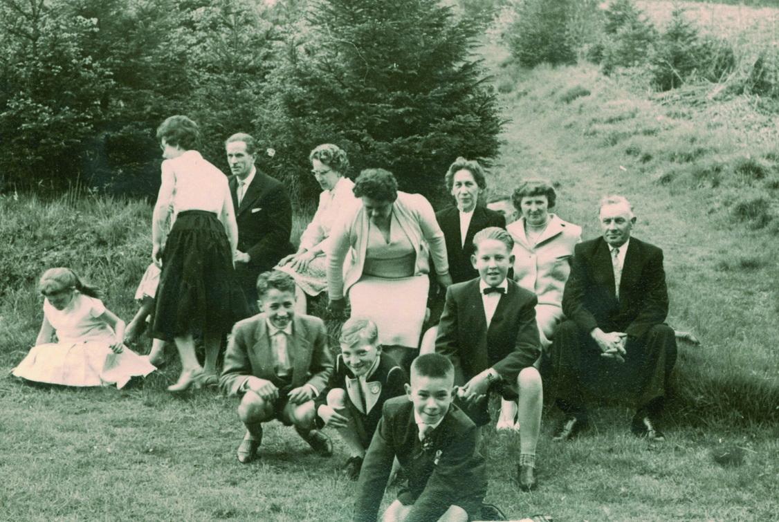 Kommunion: die Feier mit Gästen 1959