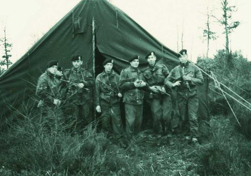 ... und in Zelten übernachten 1966