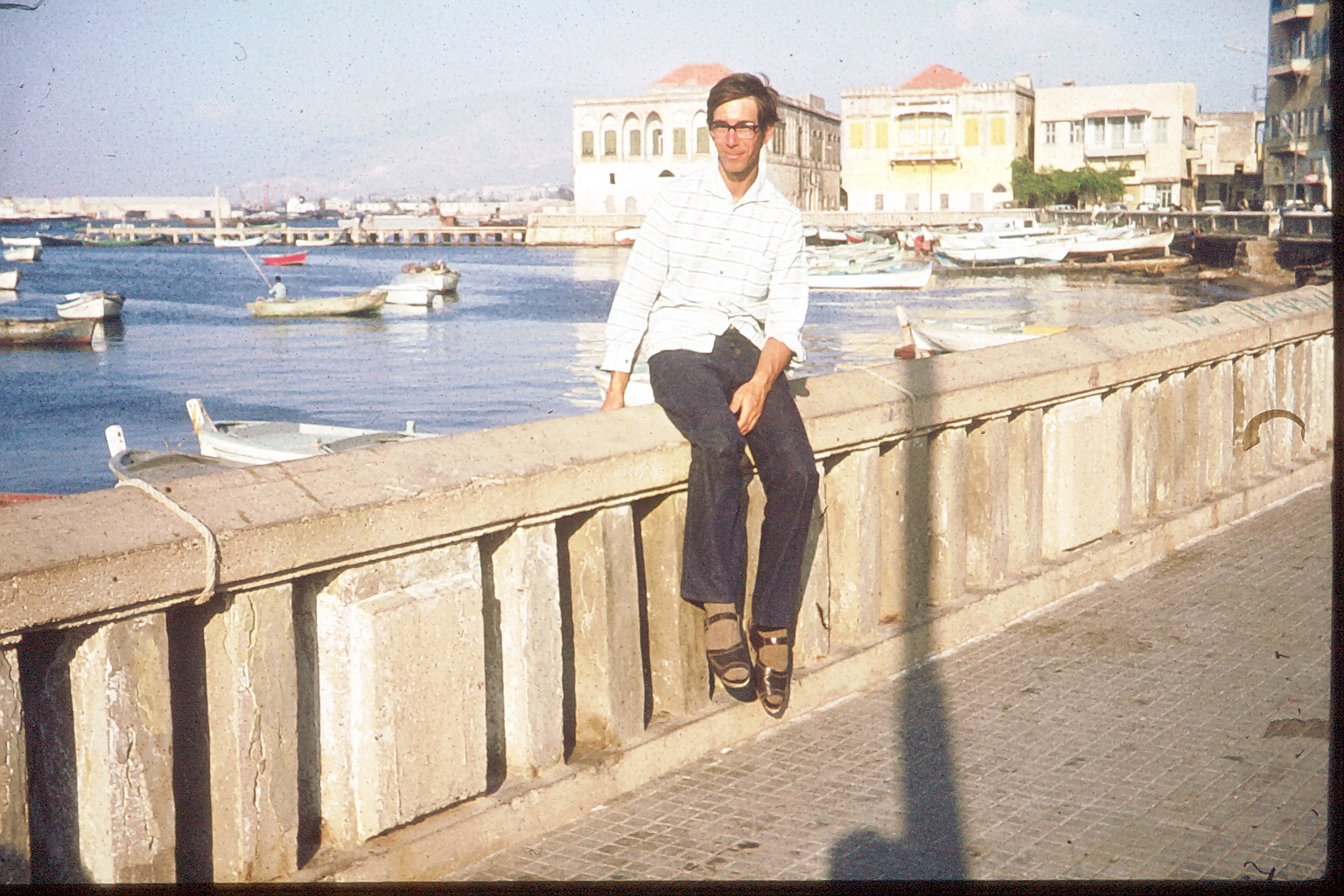 Sidon (Saida) am Hafen
