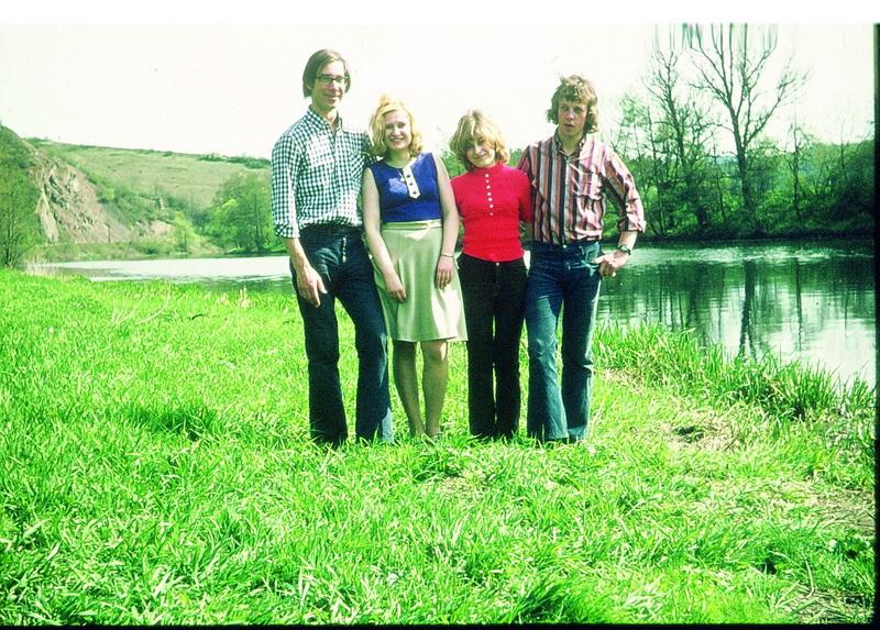 Mit Karl Heinz Schmidt in Tschechien