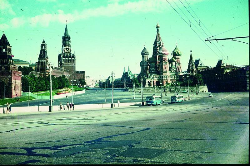 Roter Platz und Kreml