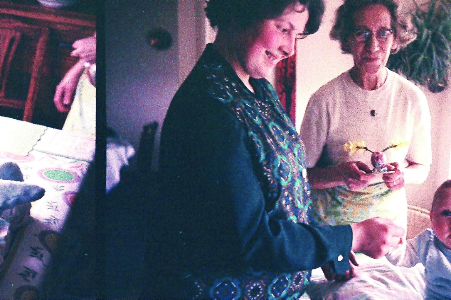 ... und mit Oma 1971