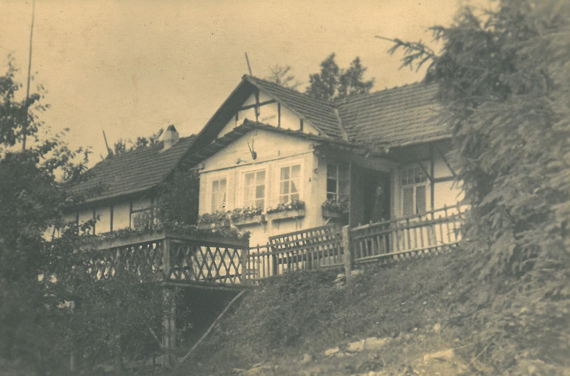 Das Haus in Netra in der Evakuierung bei Eschwege