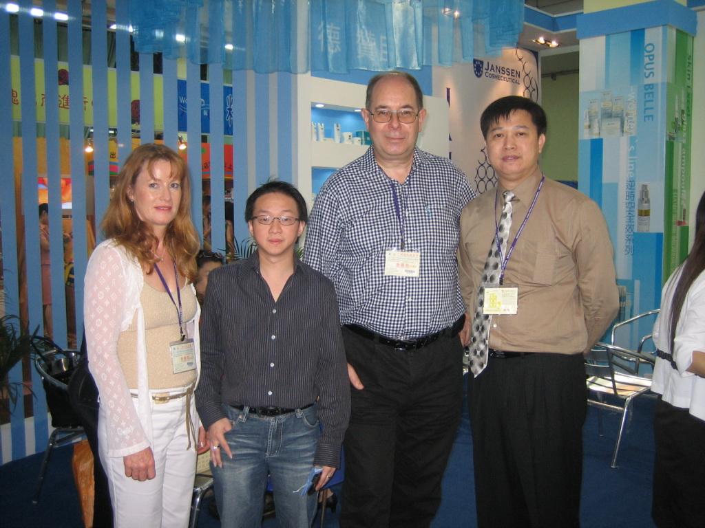... meeting Ken and Efendi with Klara