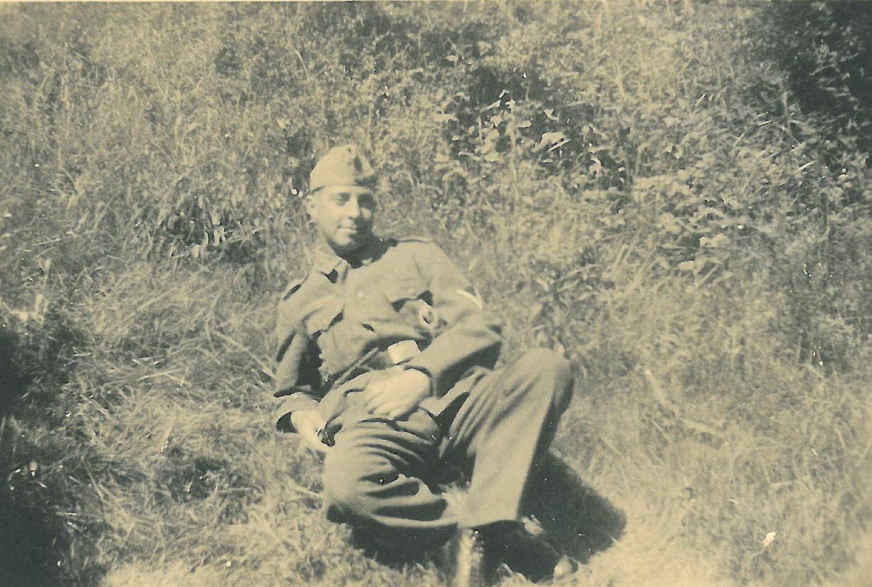 Richard Janssen 1941 vor dem Russland Feldzug