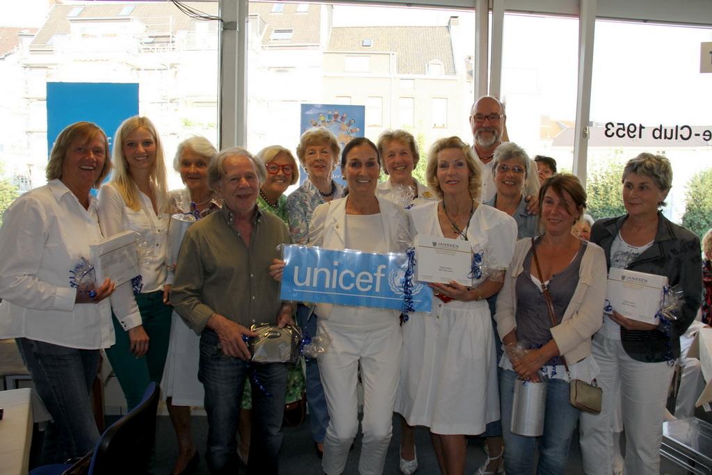 Unicef Gala with Eva 2012