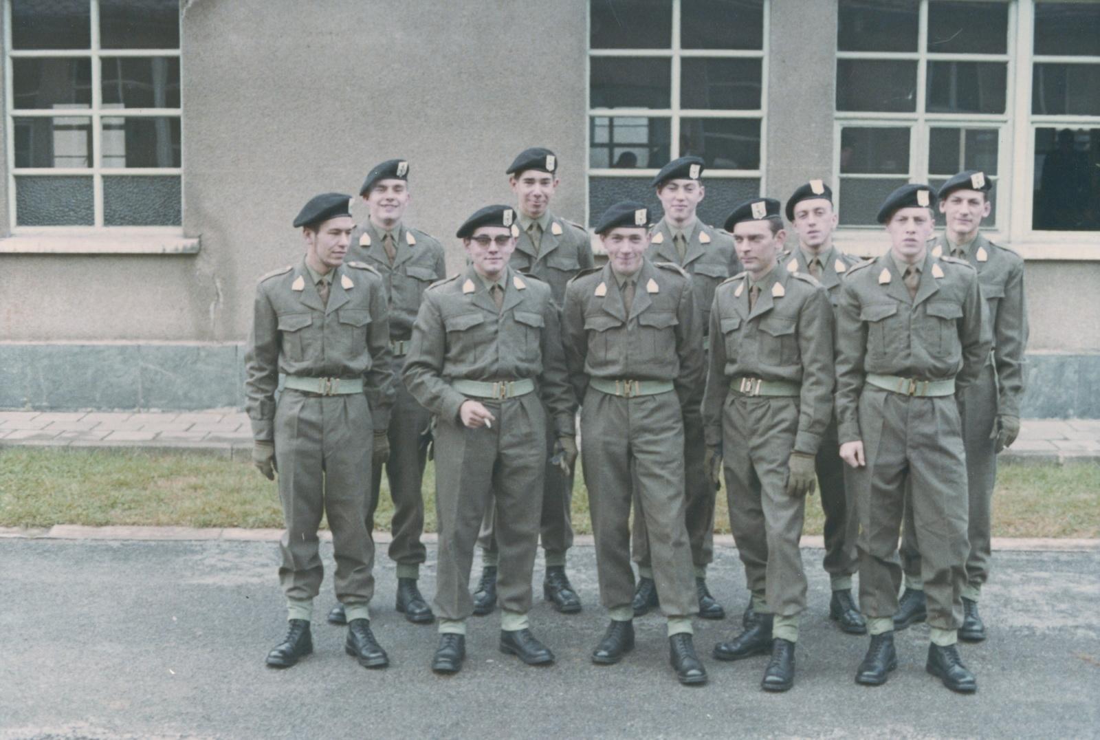 Ausbildungskompanie in Stockem 1966