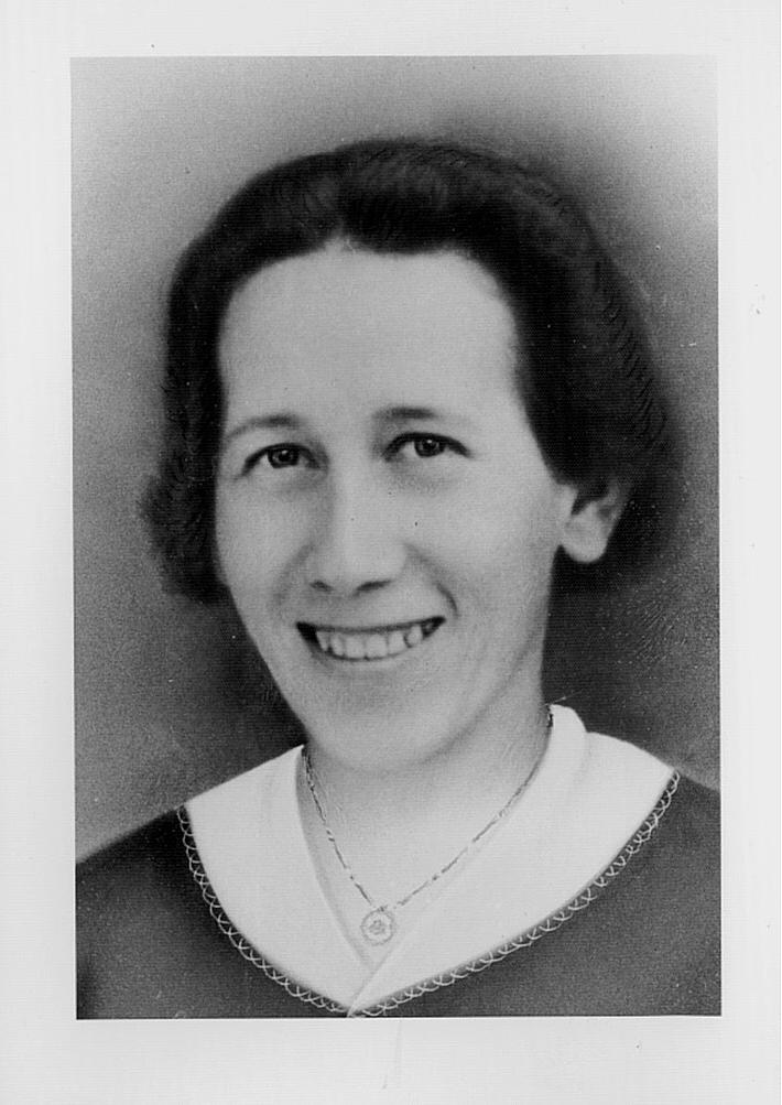 1908-1986 Martha Klein, Richard's Frau