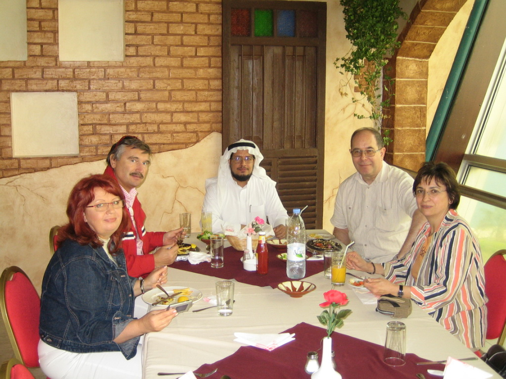 Meeting Naser al-Harbi at Saudi border