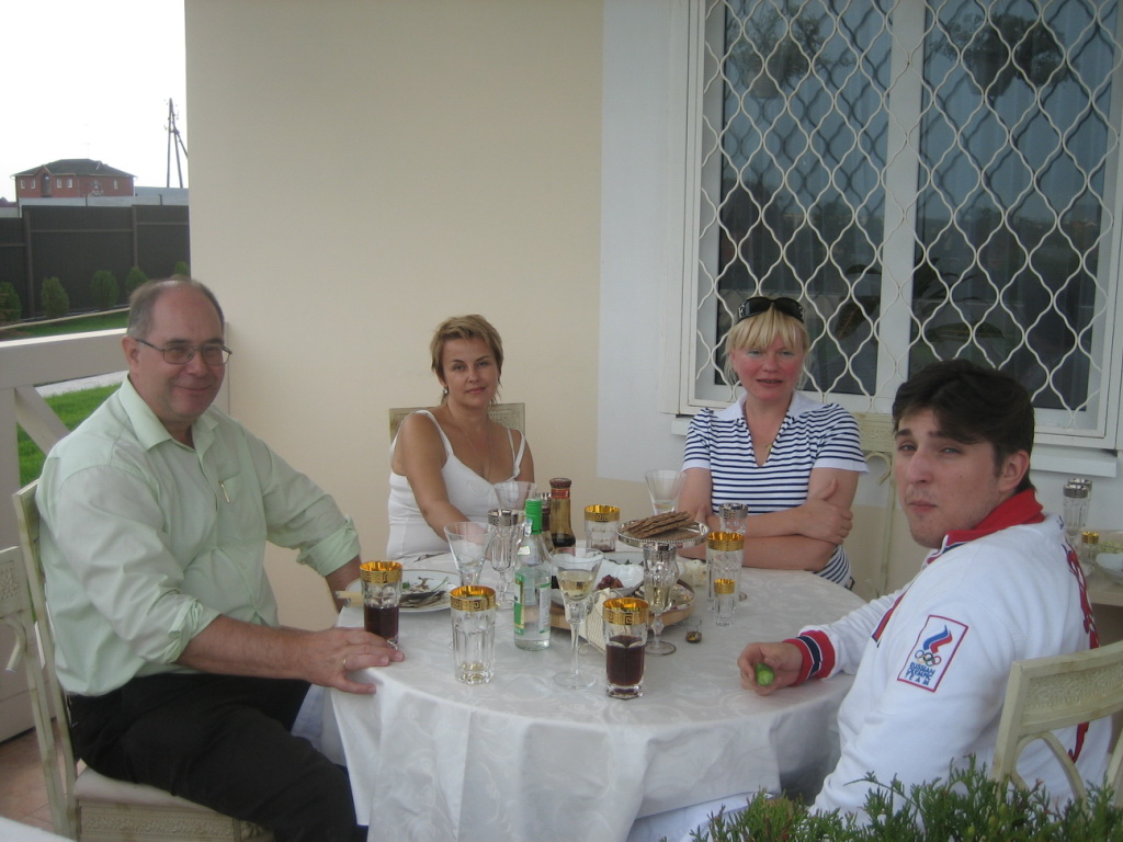 ... private with Tatyana and Lena 2006