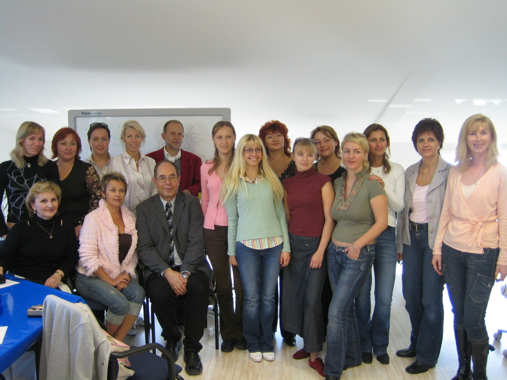 Guests from Russia in Aachen 2005