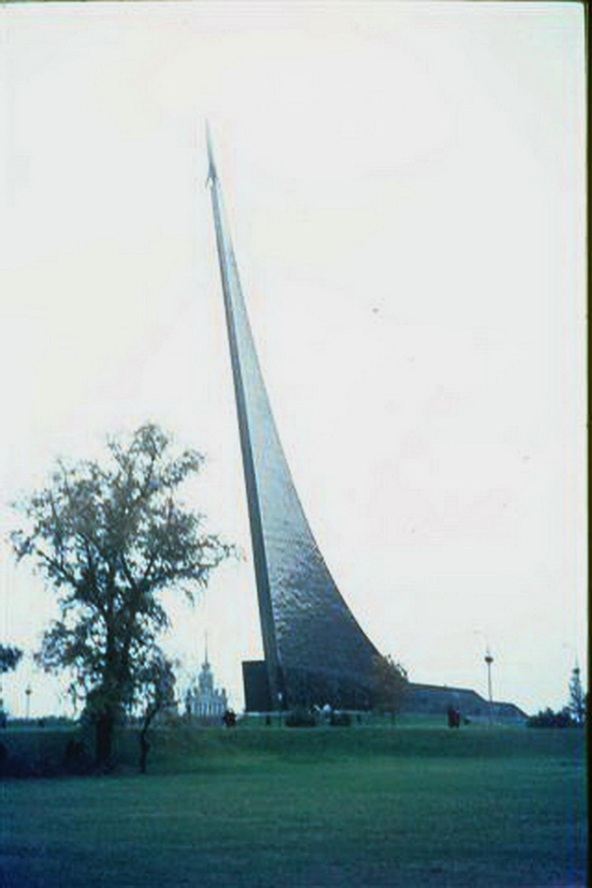 Weltraumdenkmal in Moskau