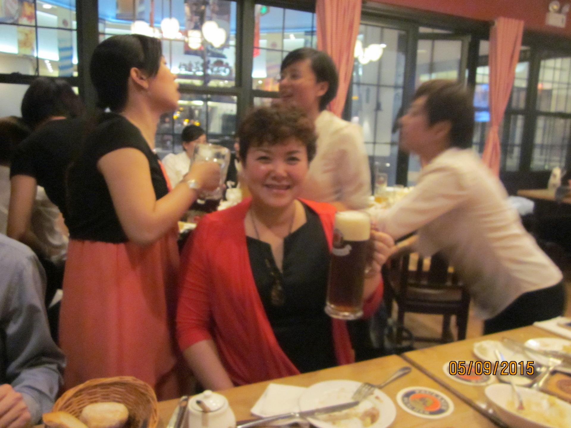 Das Shanghai Girl Mitarbeiterin Ms. Lee