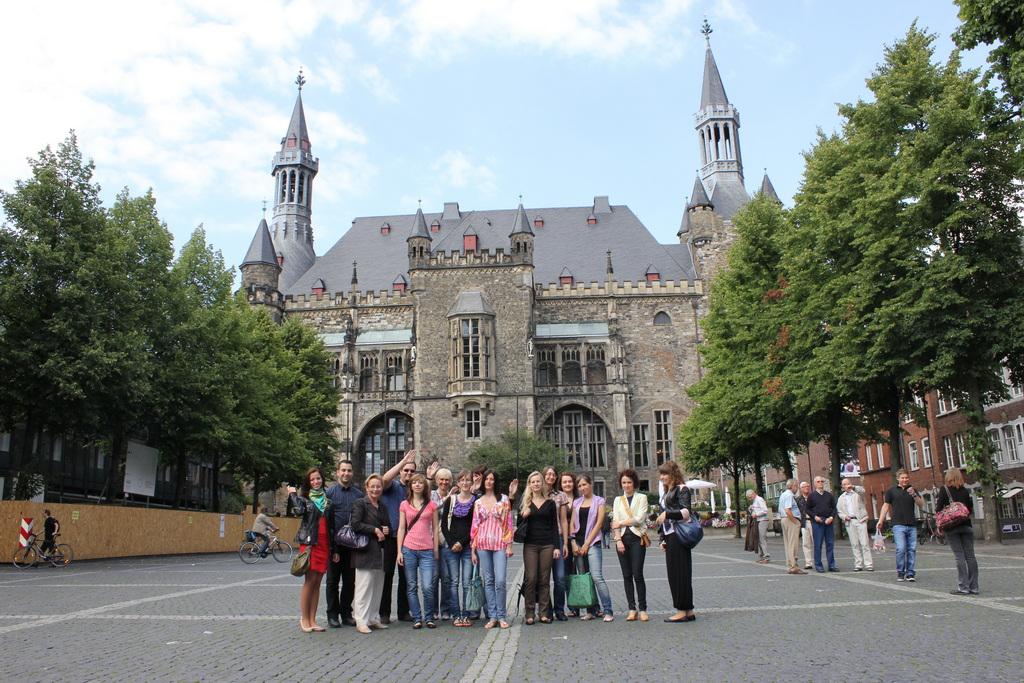 Polnische Studenten aus Krakow