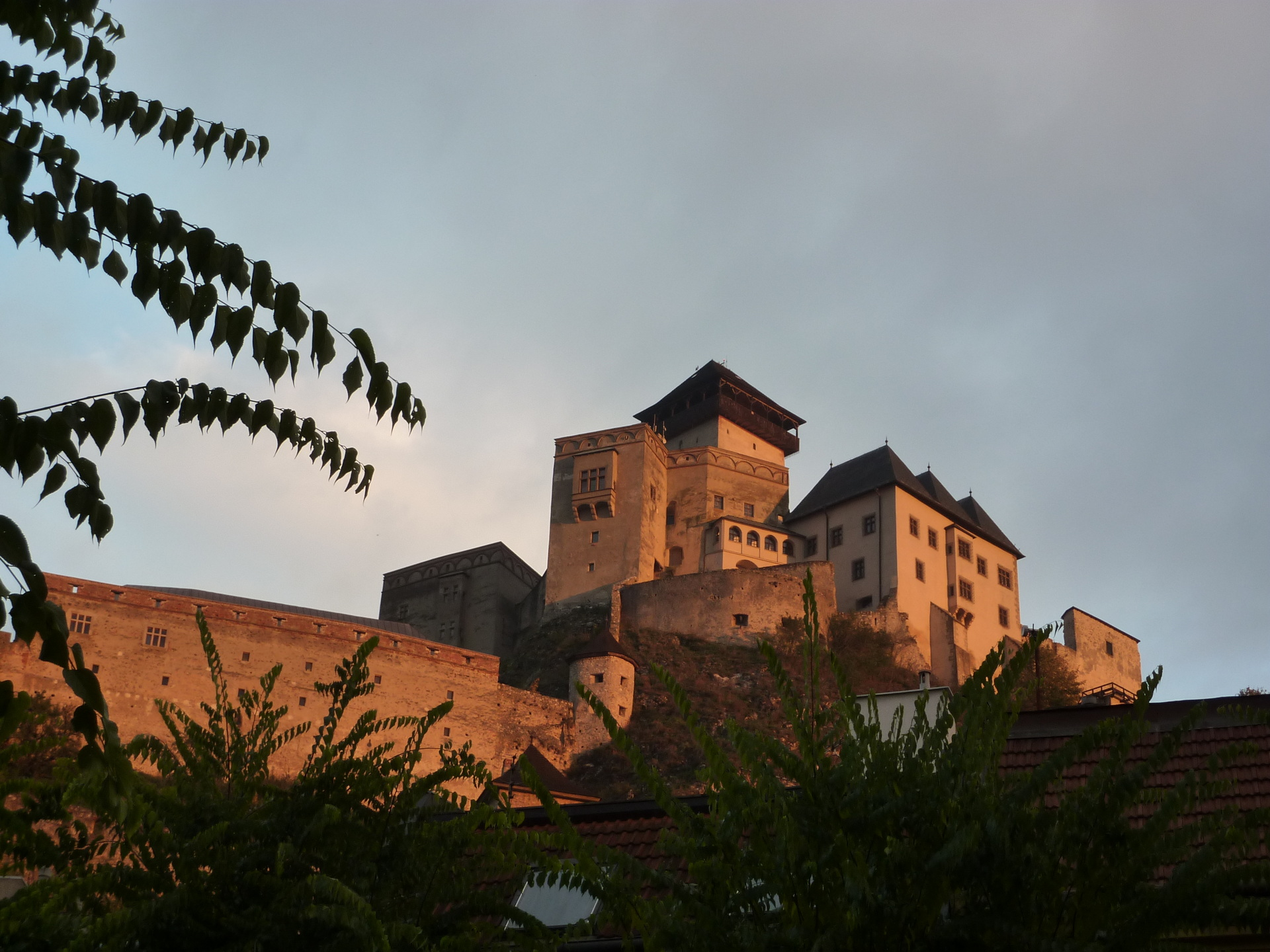 Die Burg in Martin (SK)