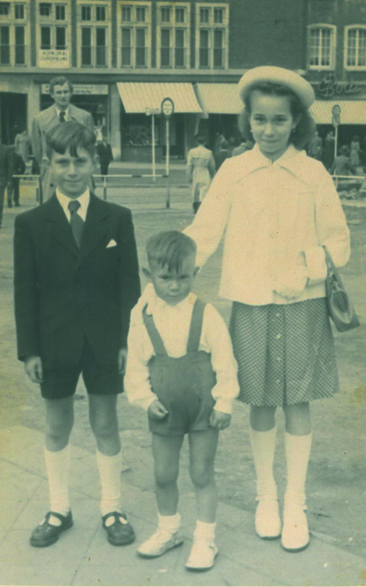 Mit Monique und Siegfried an der Kreissparkasse Aachen