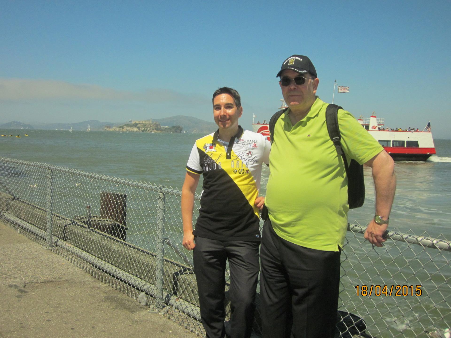 Mit Ulrich in San Francisco 2015