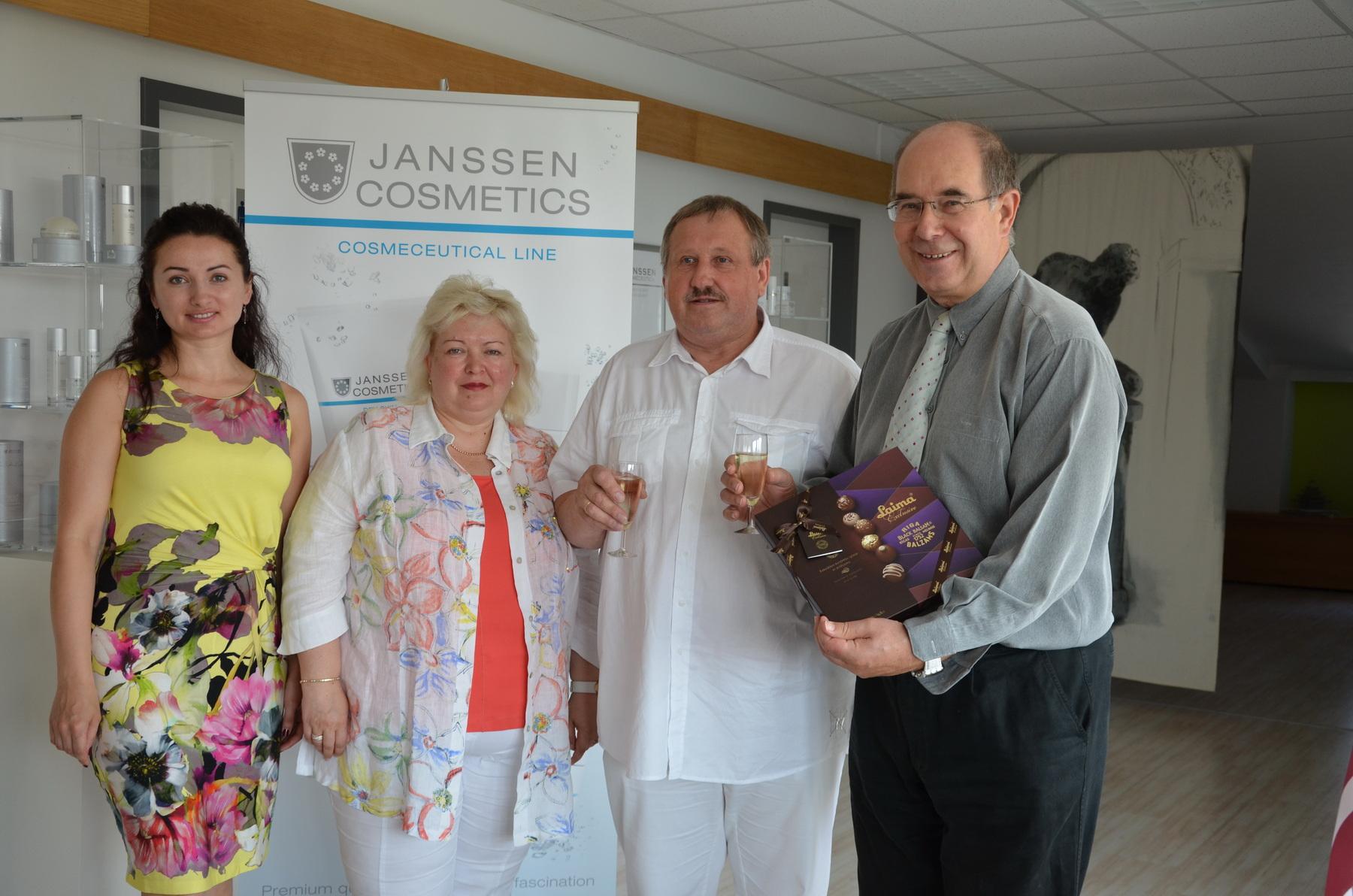 Inese & Rihards in Aachen for seminar
