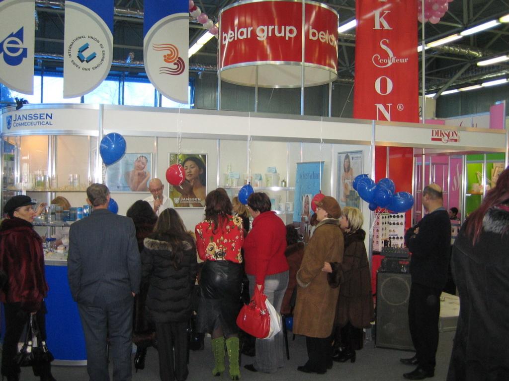 Belar Group (Marina & Ghennaddii) at Expo in Tiraspol 2006