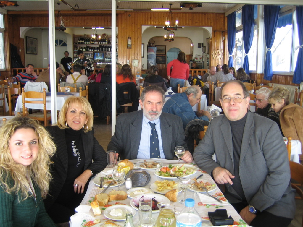 In Athens with Georgos and his wife 2006