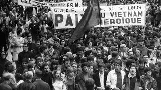 Proteste gegen den Vietnam-Krief