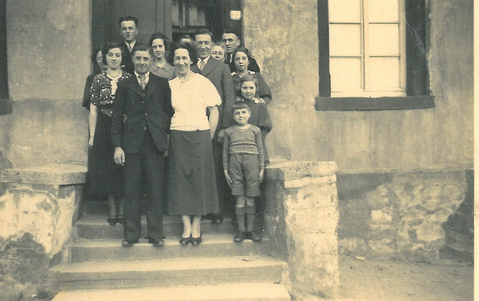 Hochzeitsgesellschaft 1936