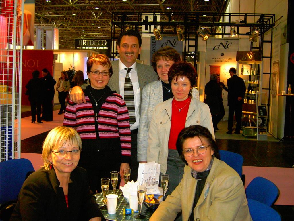 Team Deutschland in Düsseldorf 2005