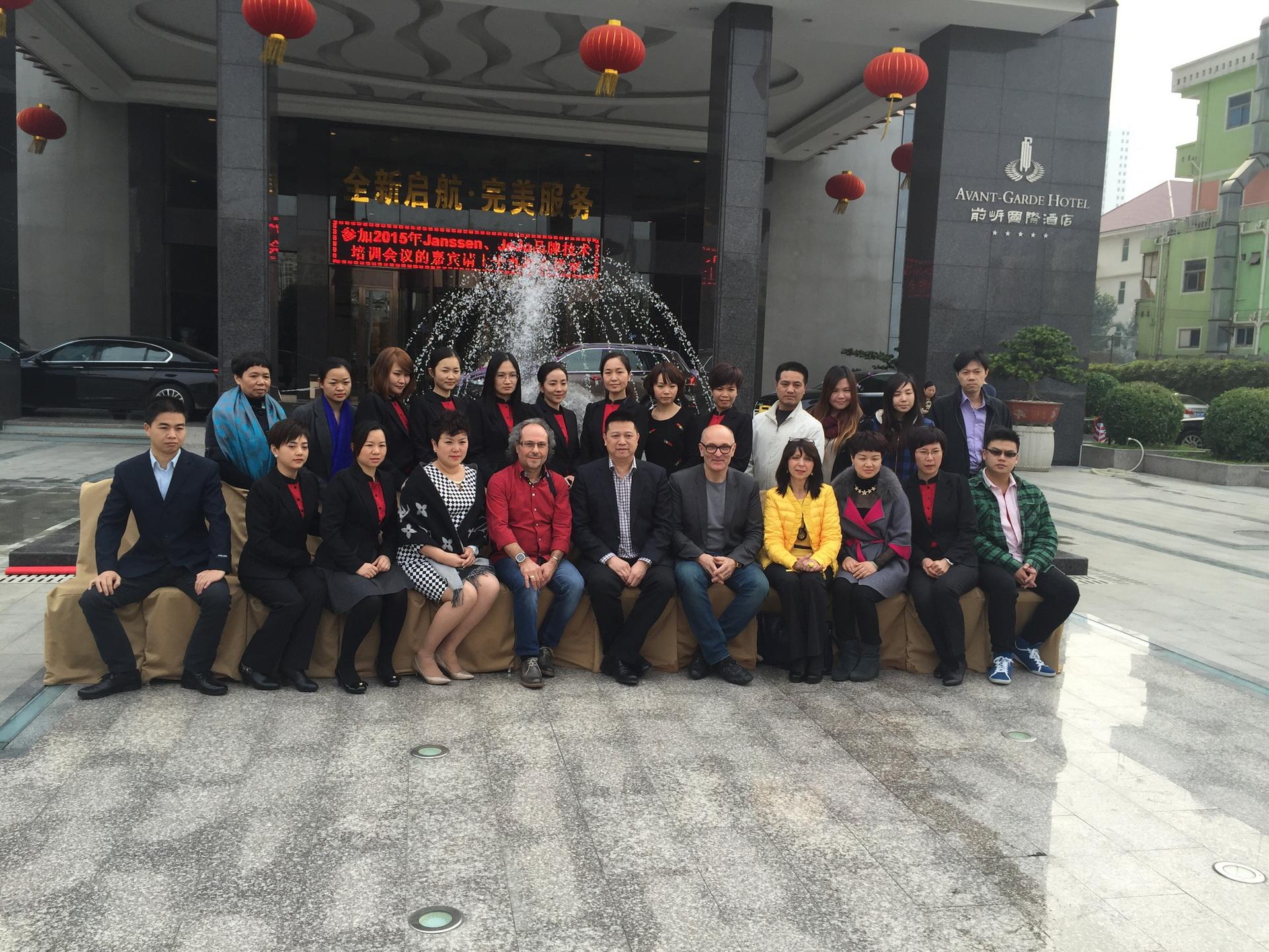 Schulung von Renate in Shenzhen 2016