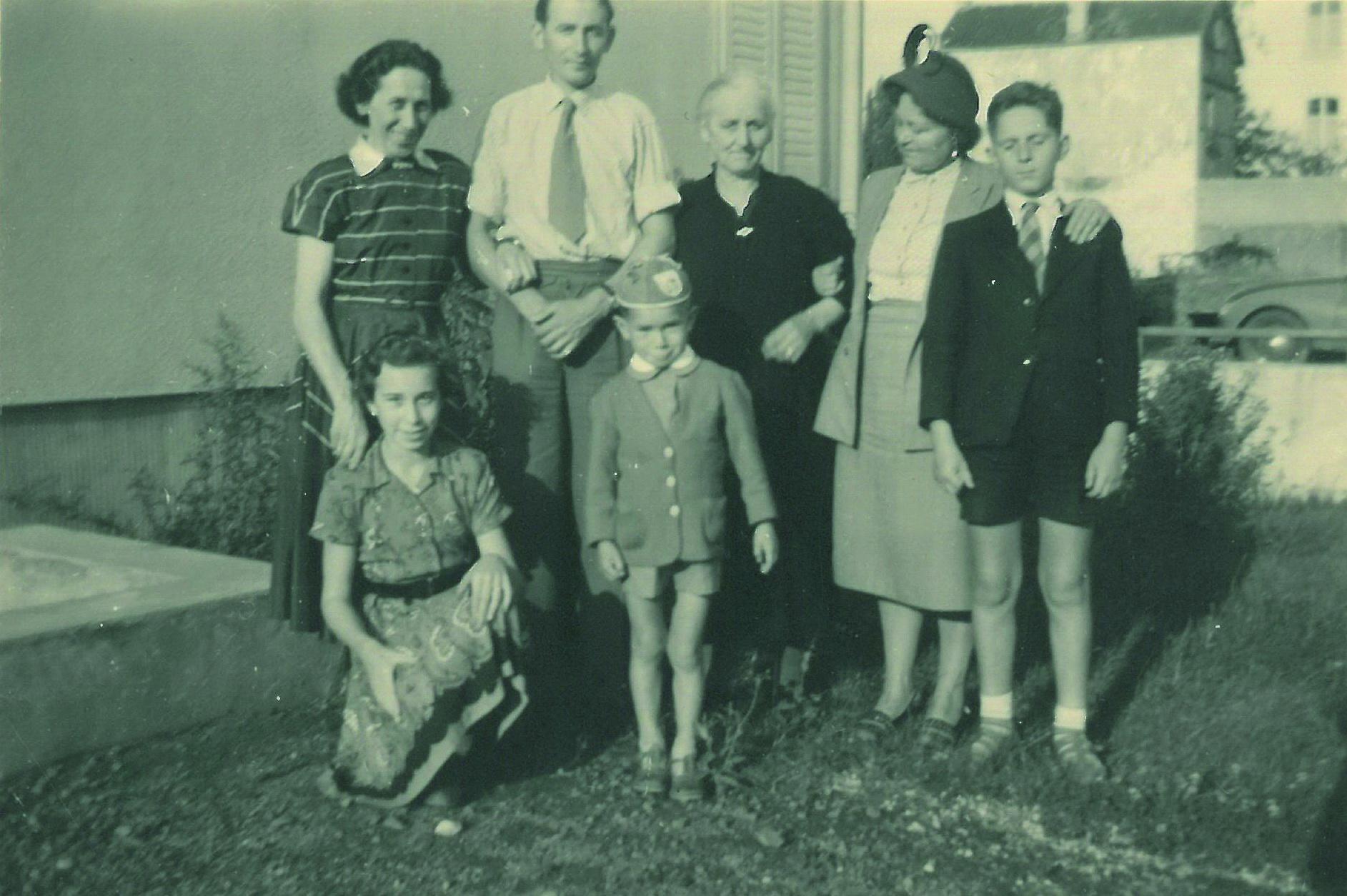 In Bad Neuenahr 1950