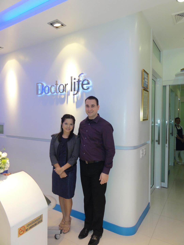2013 Reinhard and napasorn Pranich in Bangkok