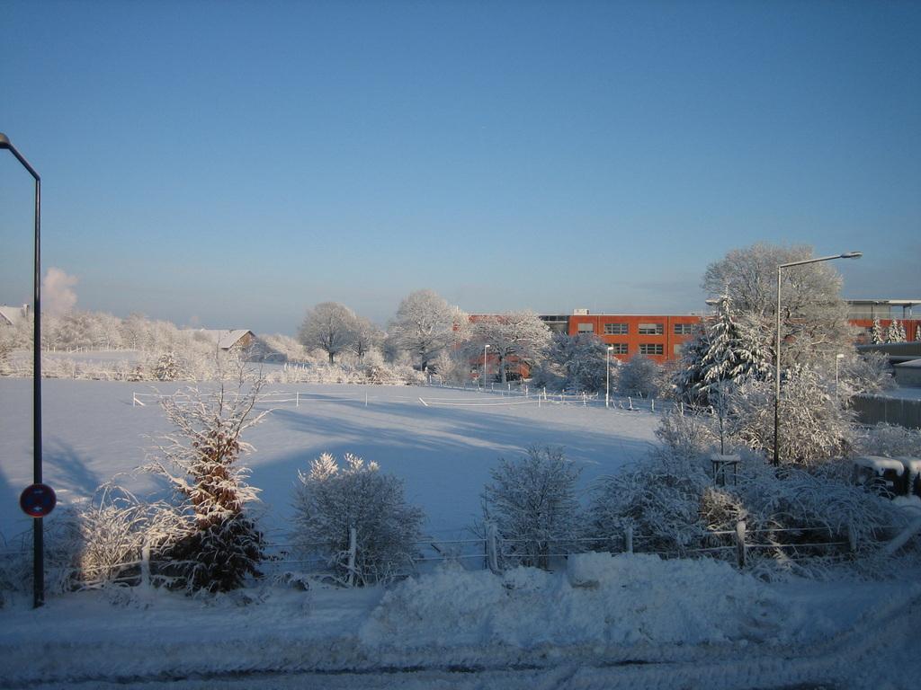 An Pontsheide im Winter 2010-2011