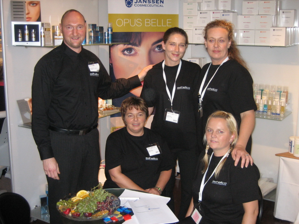 Team from Estetica at Norway Expo