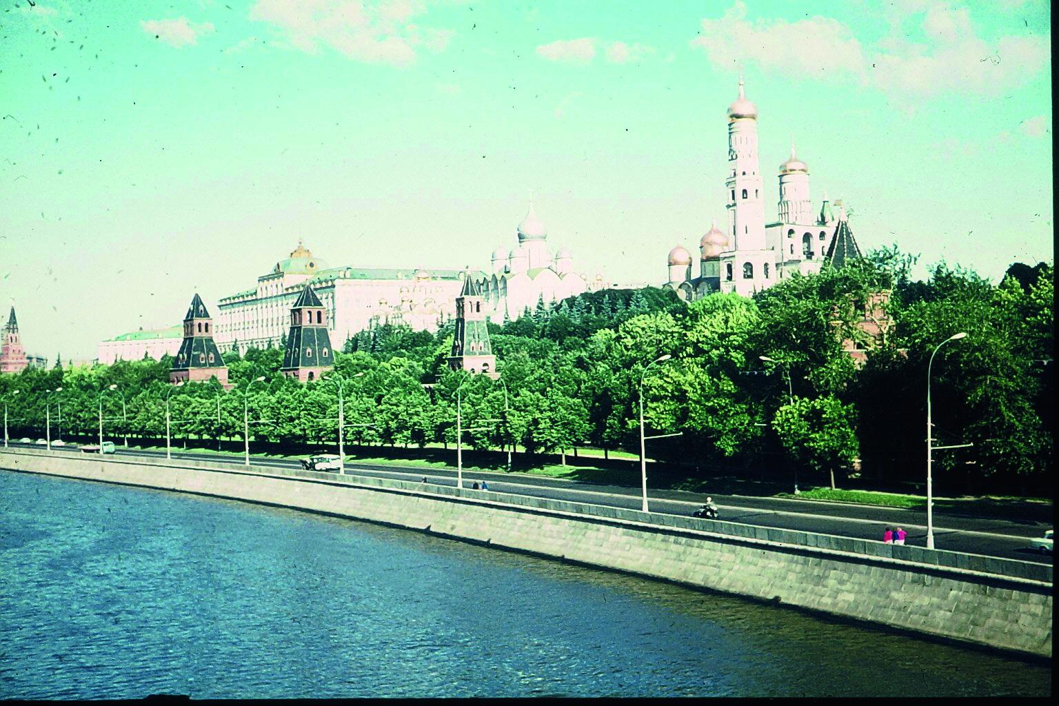 Kreml von Moskva Fluss