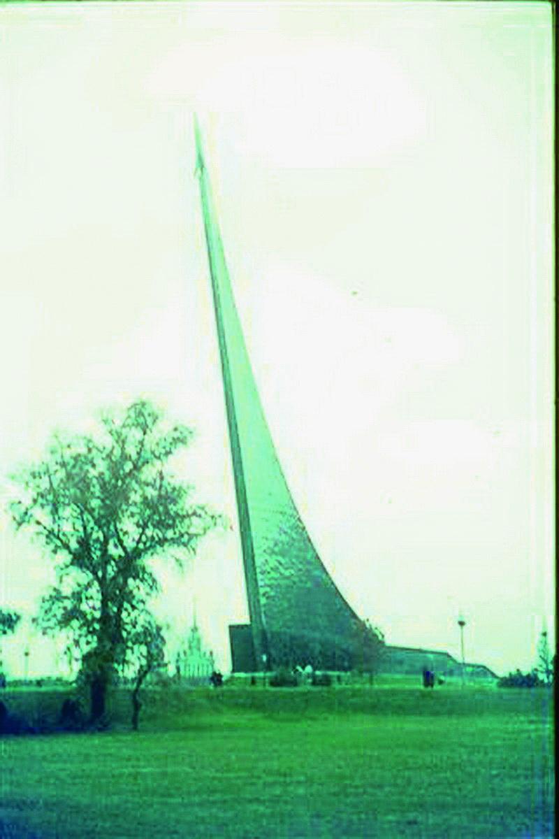Denkmal im Raumfahrt Museum