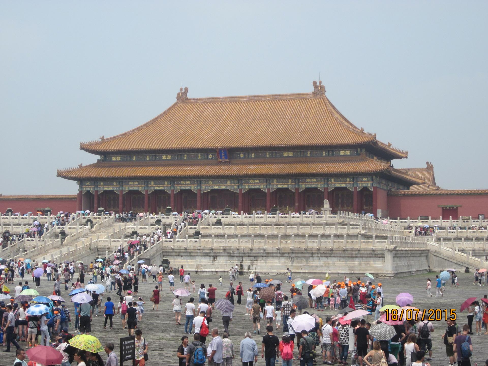 Verbotene Stadt in Beijing 2015