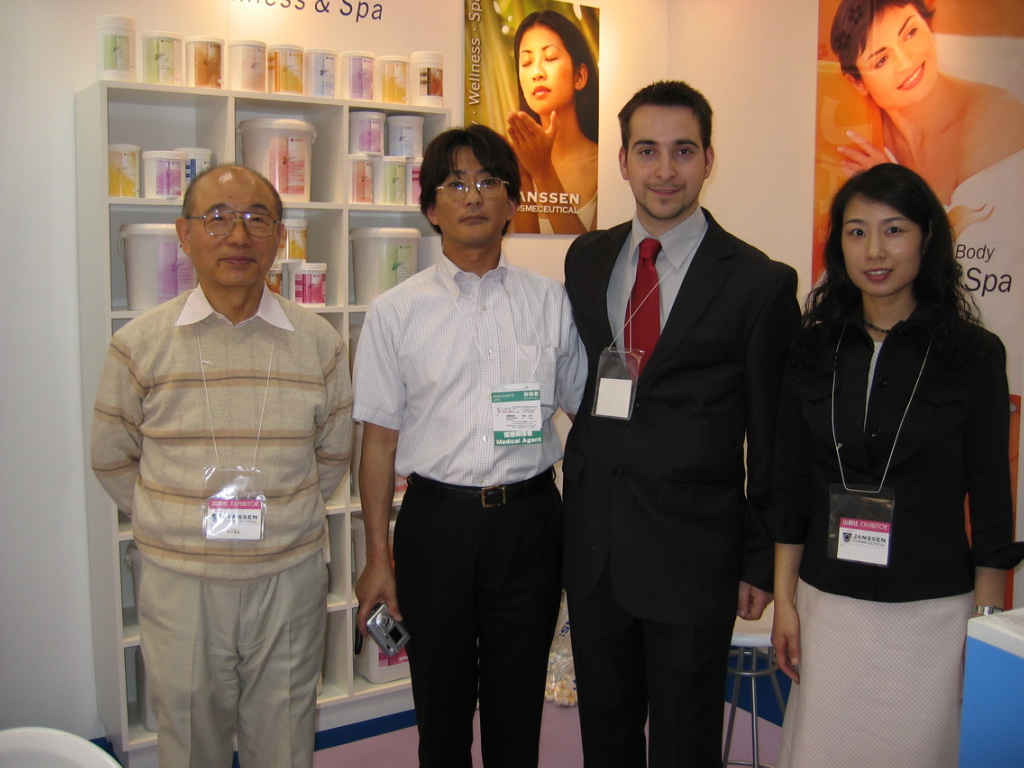 Reinhard with Yozo Nitta in Tokyo 2006