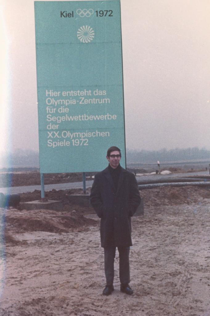 Walther in Kiel bei Detlev 1971