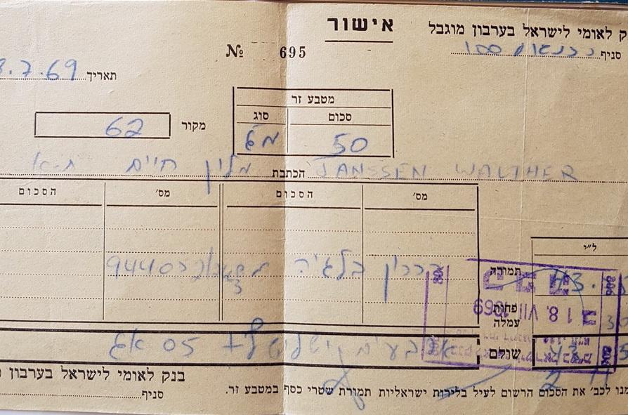 Einreise in Israel