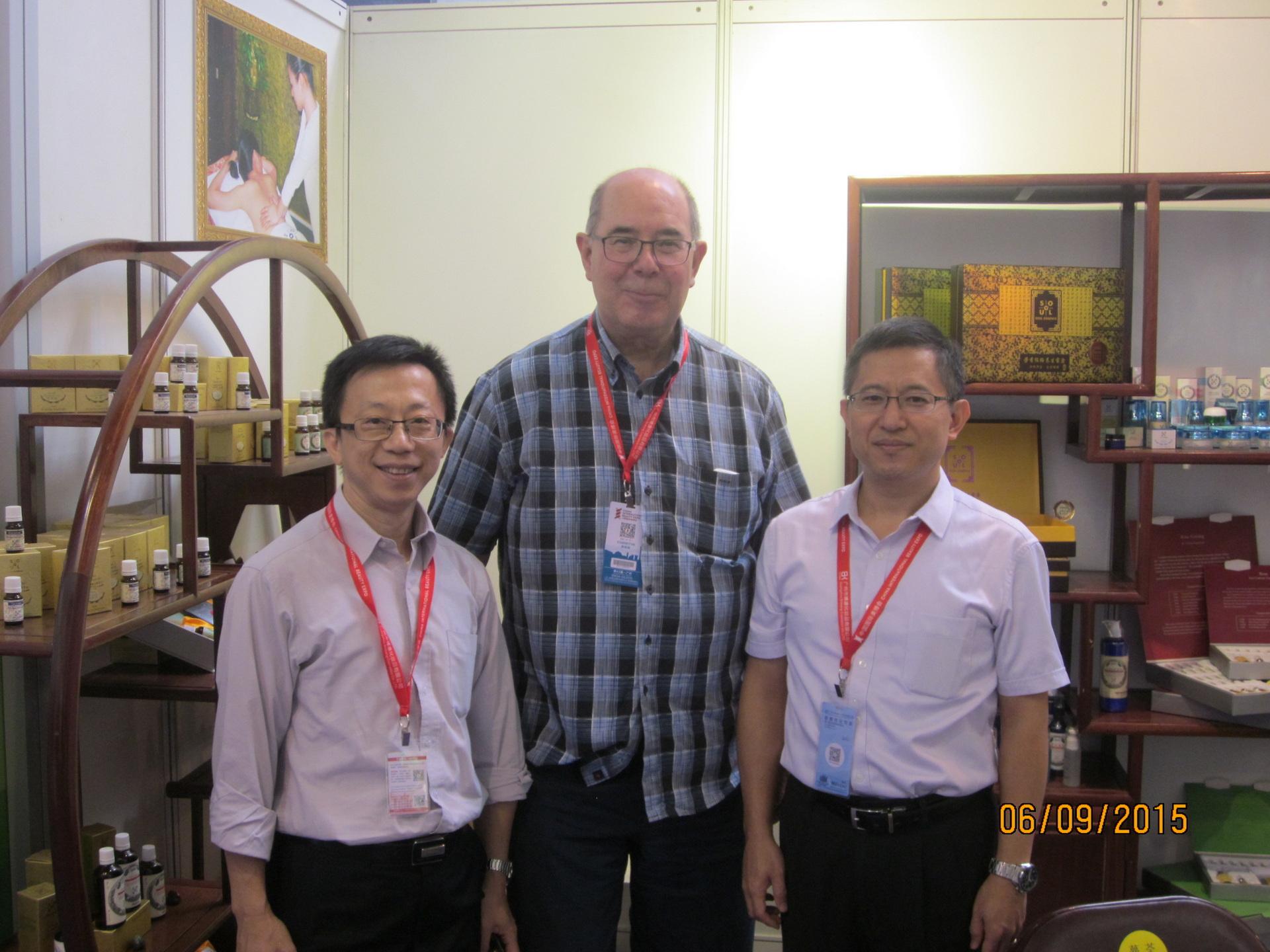Treffen mit Jacky Choi und James Chan in Guang Zhou 2015